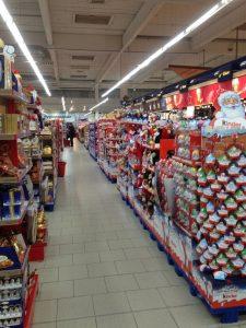 Warenhaus Konsumwelt zu Weihnachten 2