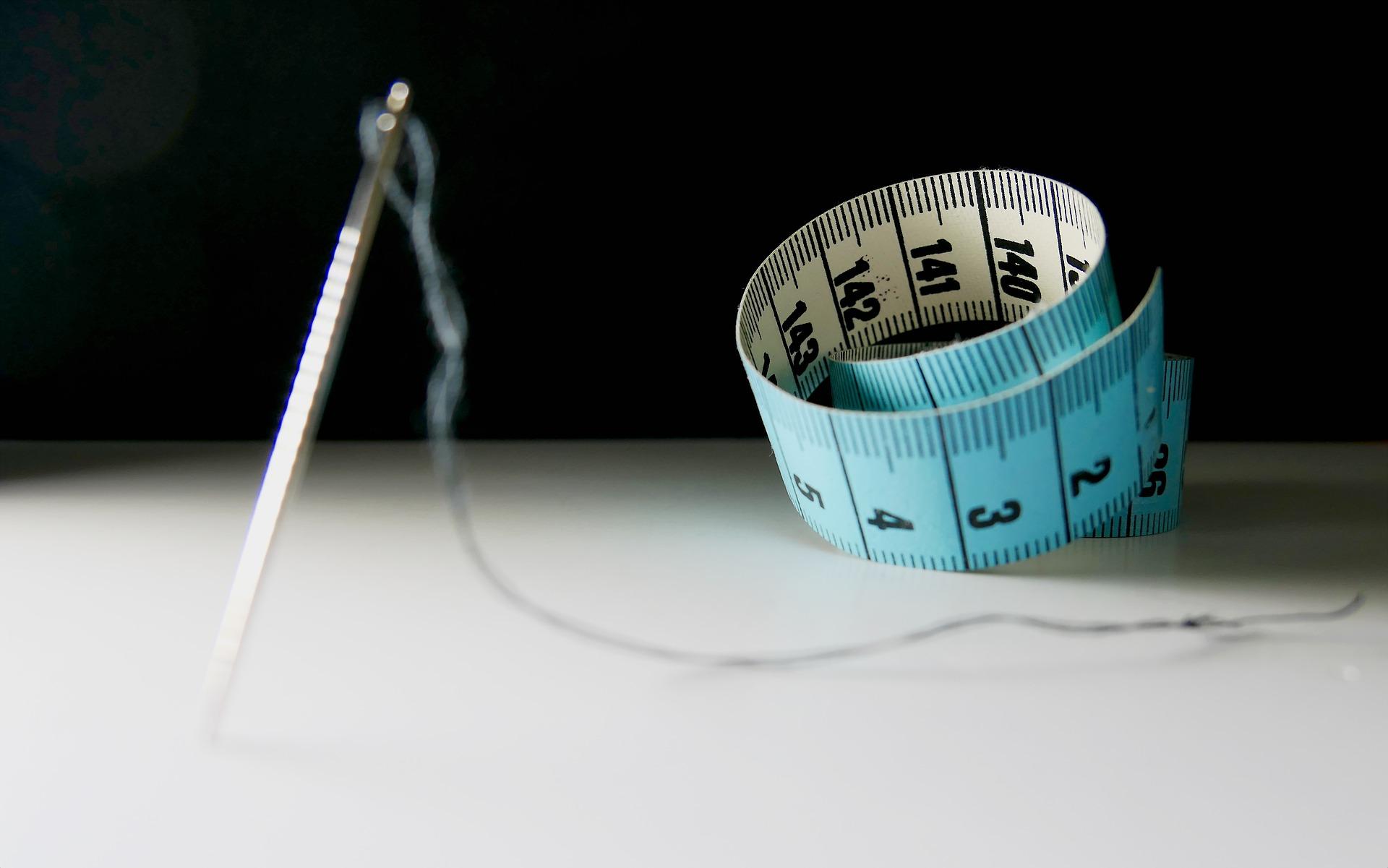 Kalorien und Nähen
