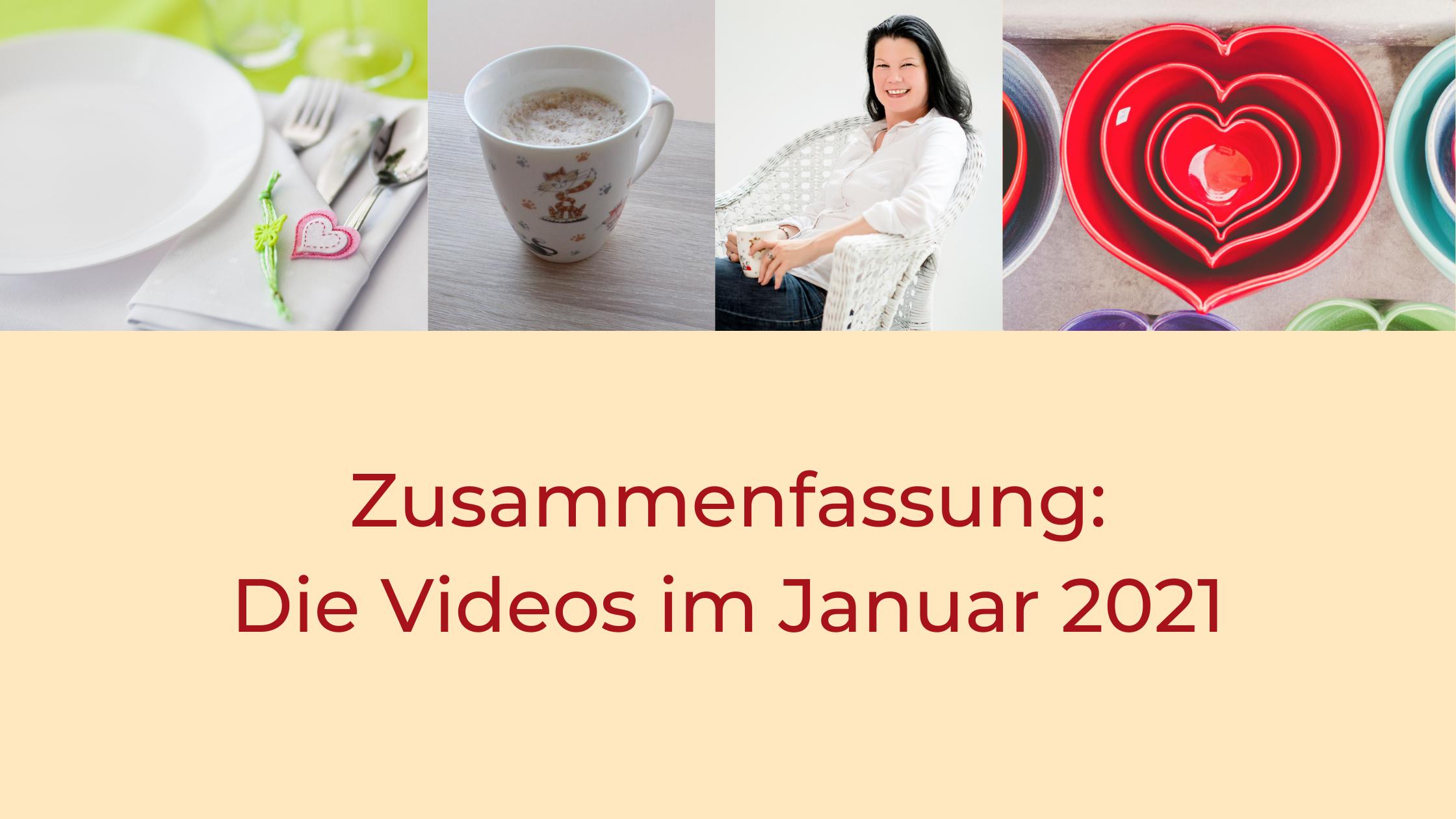 Titel Zusammenfassung - die Videos im Januar 2021