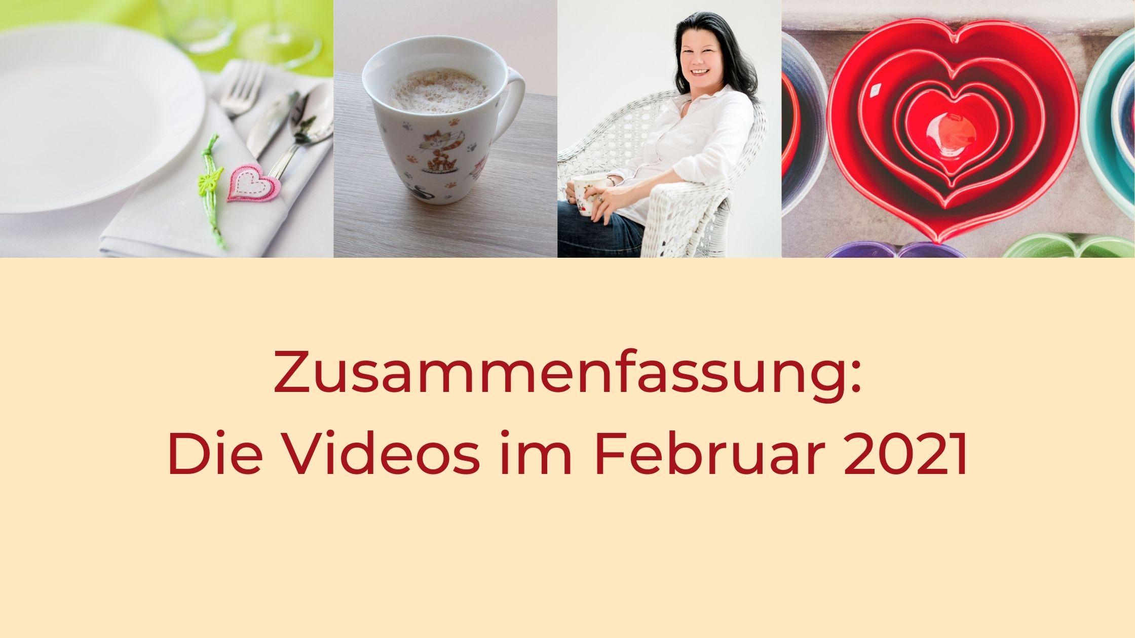 Titel: Zusammenfassung - die Videos im Februar 2021