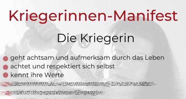 Kriegerinnen-Manifest