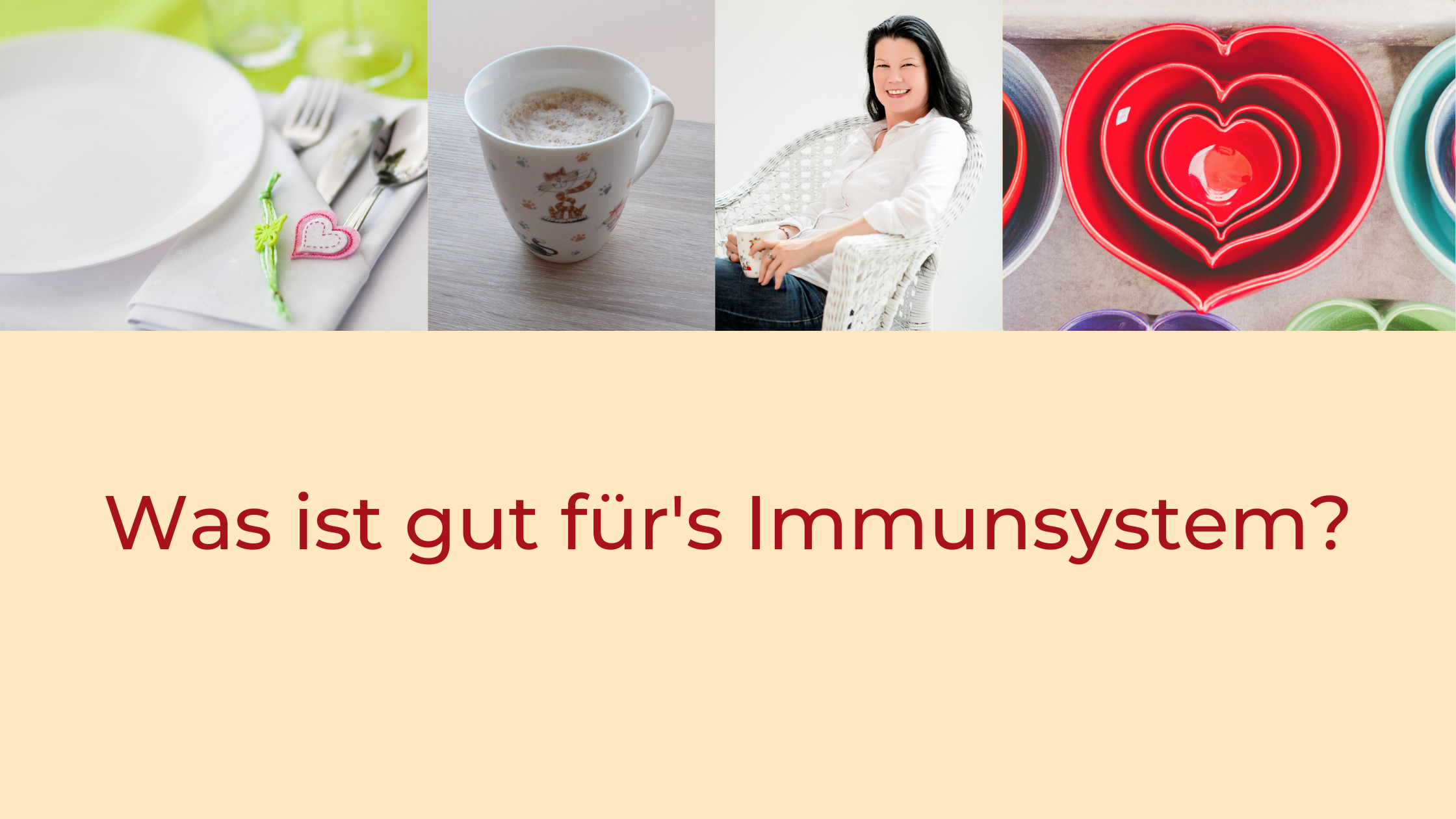 Titel Was ist gut für's Immunsystem?